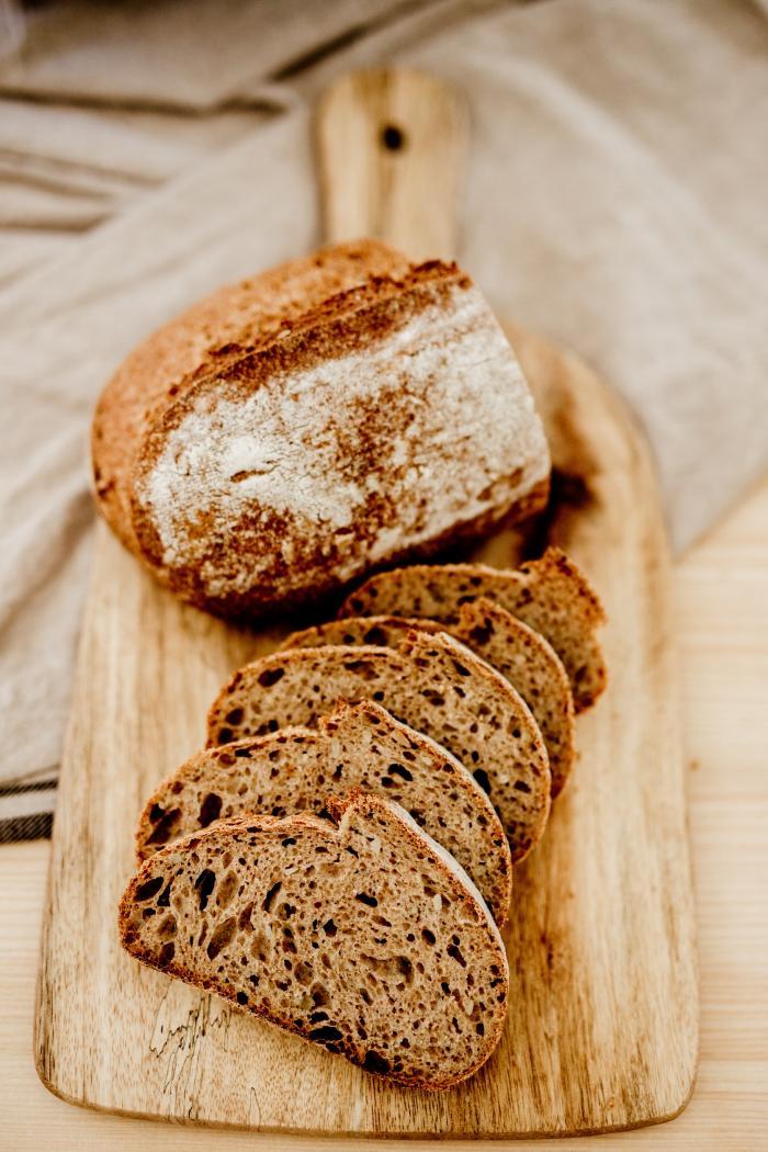Teljeskiőrlésű kenyér: